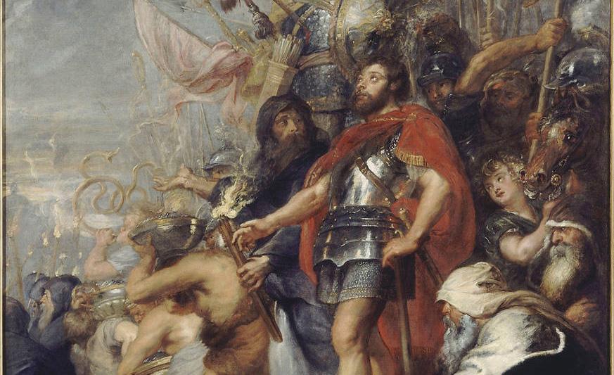 Judah the Maccabee, Judah the Mace-Man